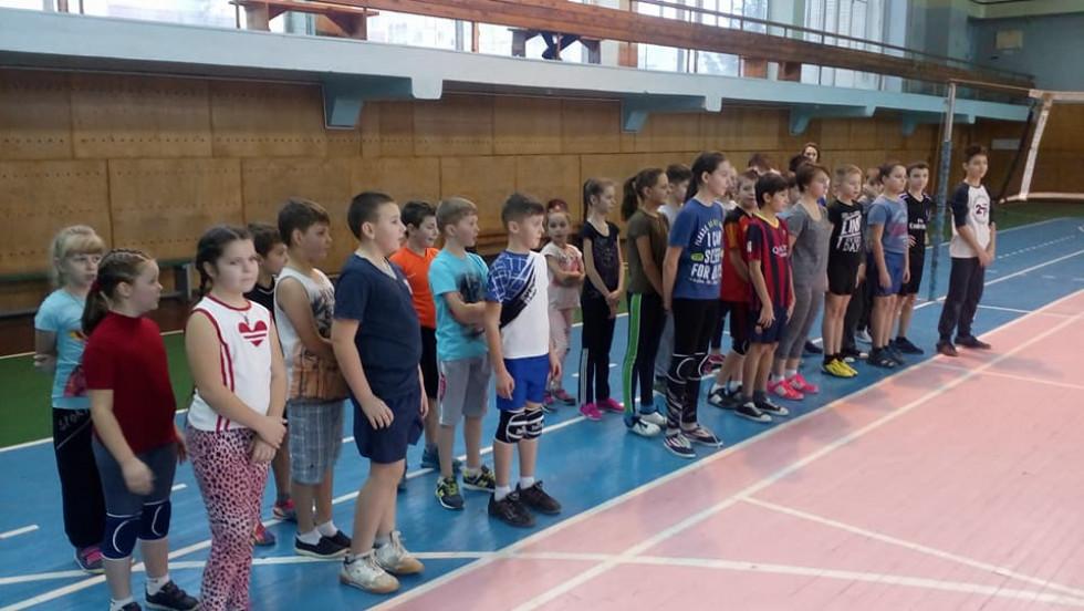Острозькі дітлахи взяли участь у змаганнях в Нетішені