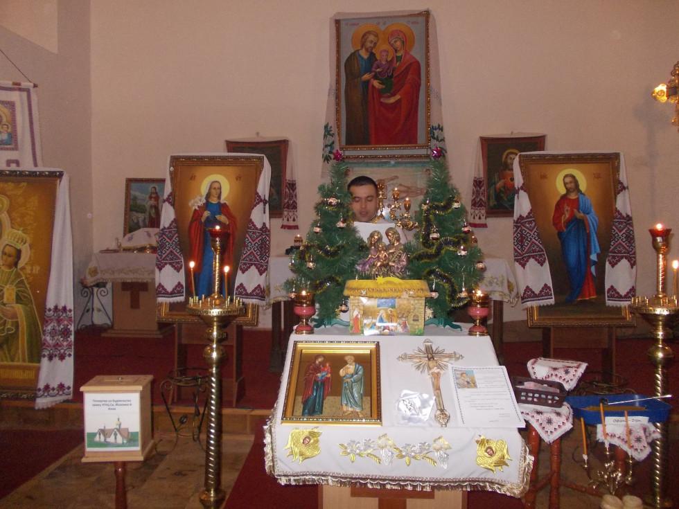 Під час богослужіння в Костелі успіння Діви Марії