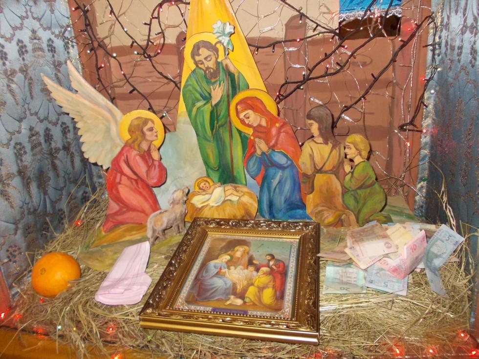 Різдвяна шопка у Студентсько-викладацькому храмі преп. Федора Острозького