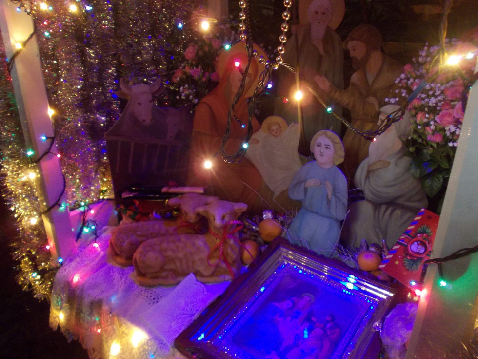 Різдвяна шопка у Богоявленському соборі