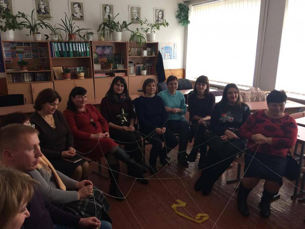 У формі тренінгу викладачі  ознайомили учасників з можливостями психотехнік у діагностиці та корекції життєвого сценарію.