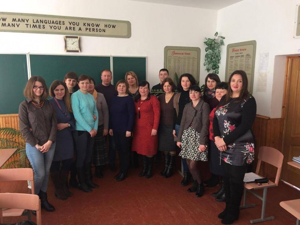 Викладачі академії провели семінар-практикум для педагогів Острога