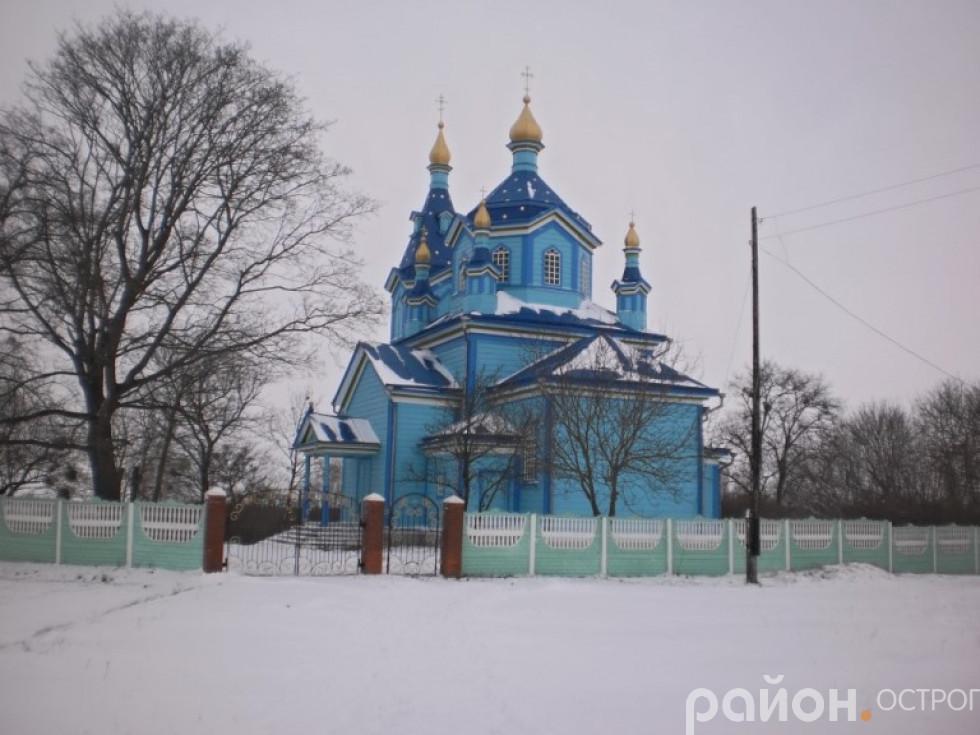 Храм у селі Волосківці