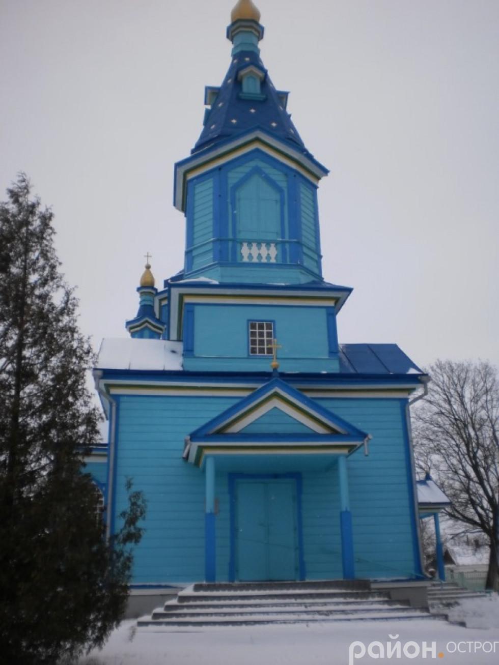 Церква святої Покрови села Волосківці.