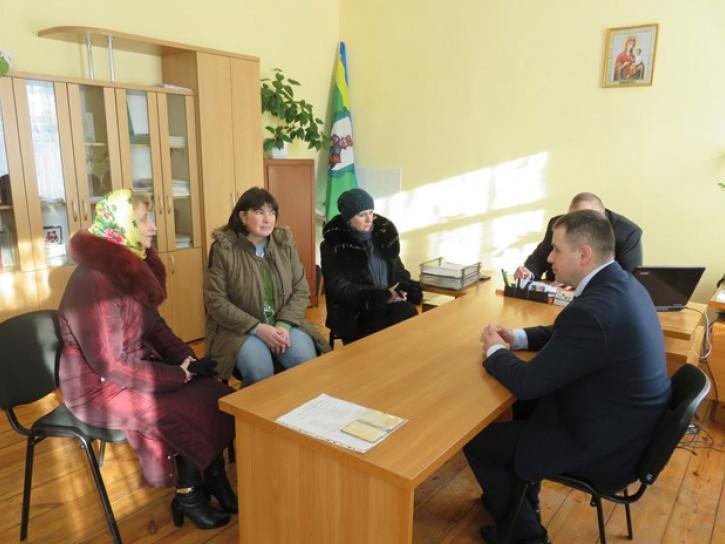 Відбувся виїзний прийом громадян першим заступником голови РДА