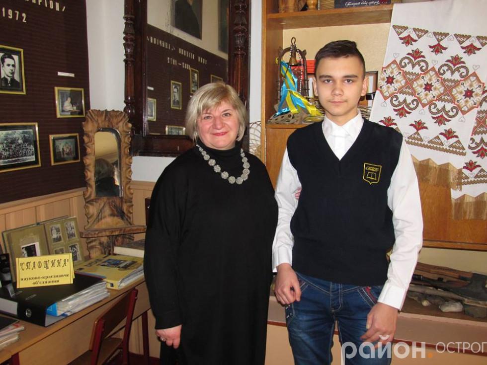 Олександр Митрофанов і Лариса Конончук