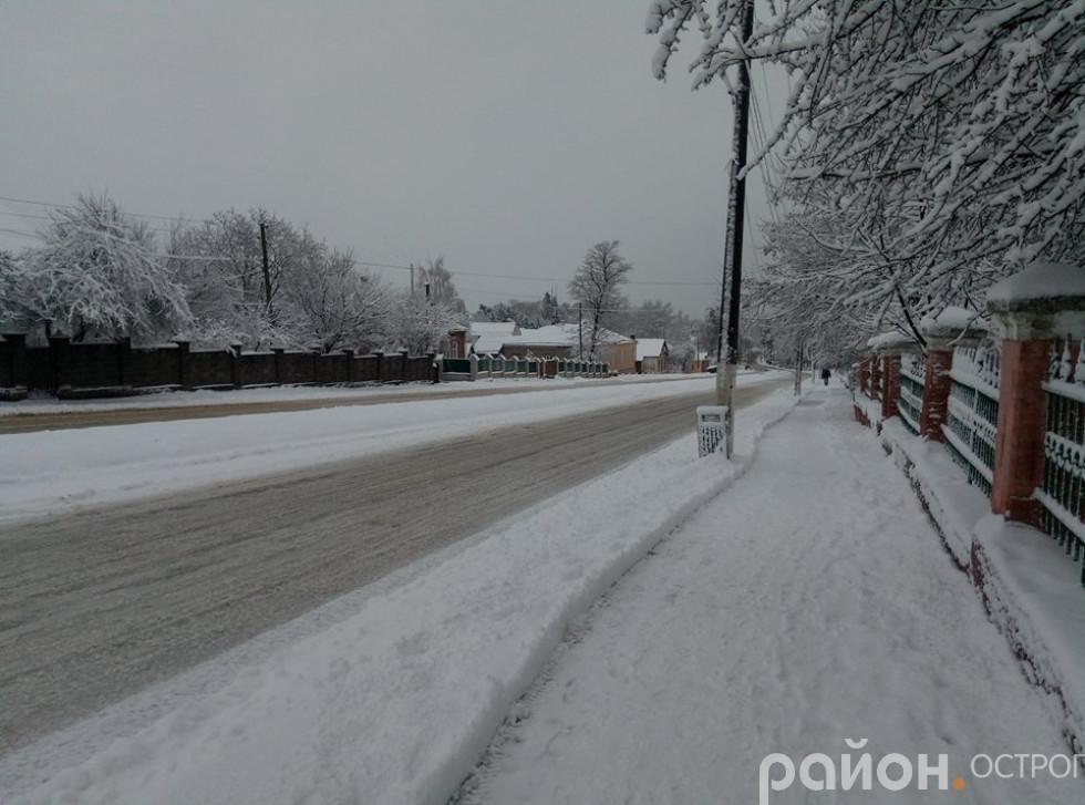 Тротуар пр. Незалежності