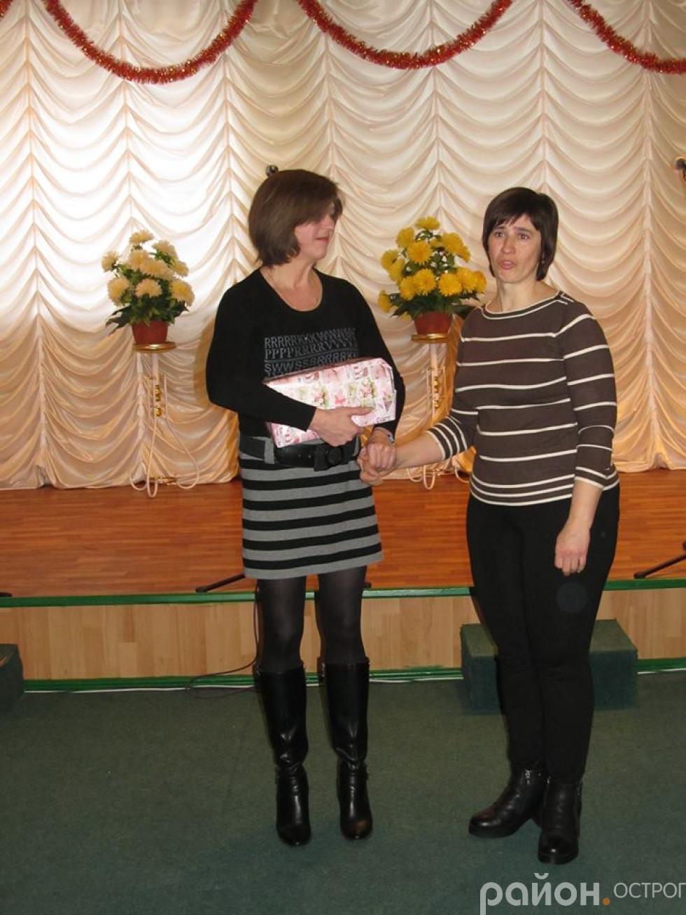 Вдова загиблого в 2015 році Петра Драчука з с. Плоска