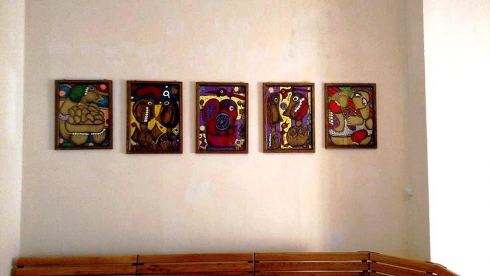 Картини  Емми Андієвської в ОА