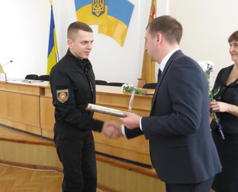 У номінація Феміда і правопорядок нагородили старшого лейтенанта Миколу Олександровича Федорука