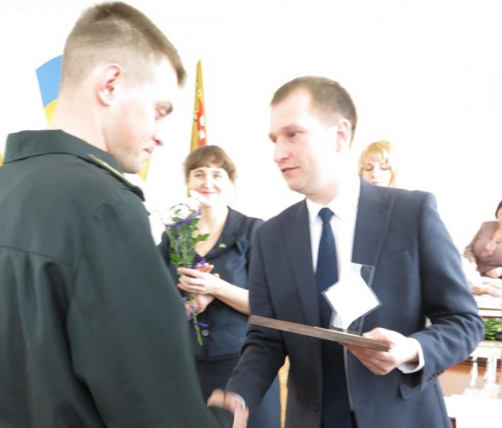 У номінації лісове господарство нагородили Дмитра Володимировича Ткачука