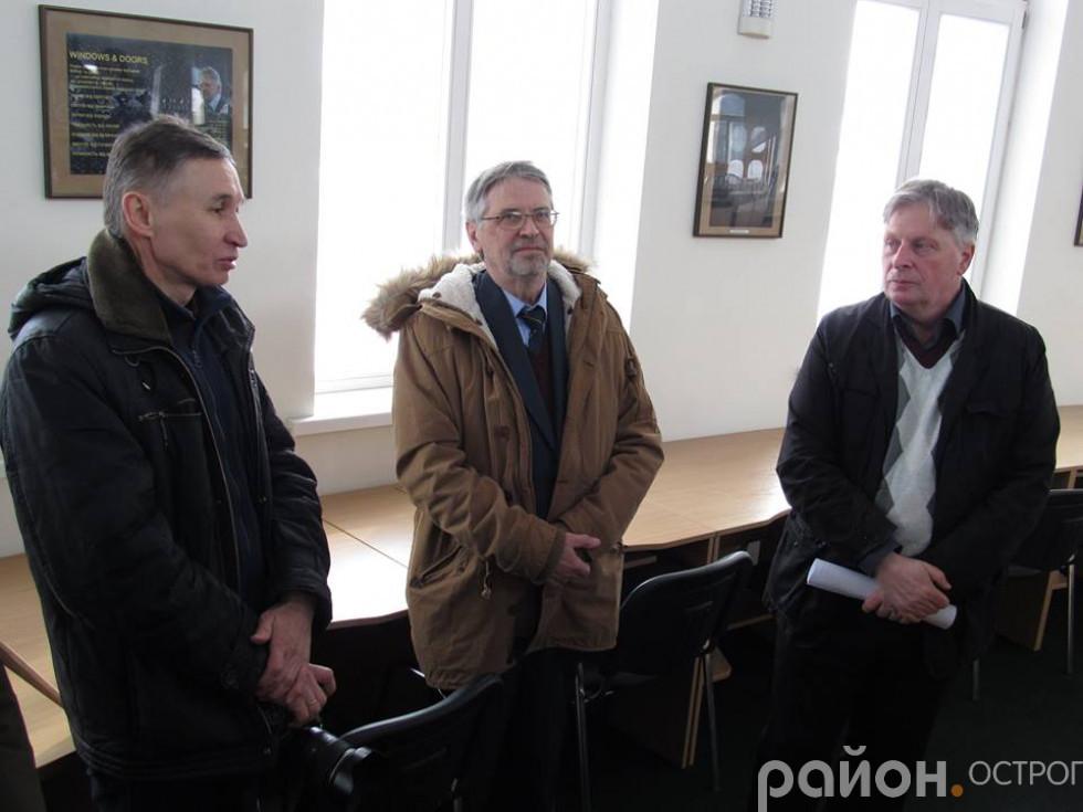 Олександр Харват, Петро Ричков, Петро Кралюк