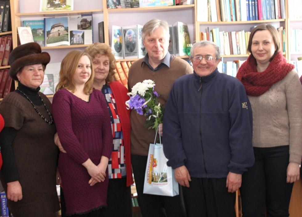 Зустріч з Петром Кралюком в Острозькій РЦБ