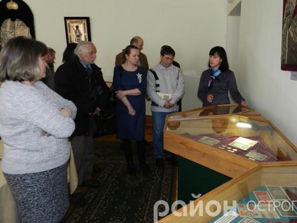 Відбулося урочисте відкриття оновленої нумізматичної виставки заповідника