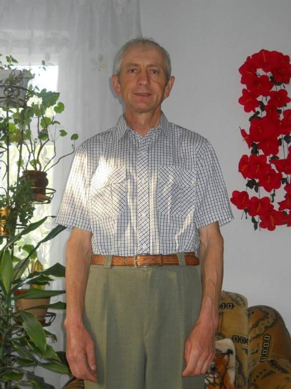 Леонід Шляхов, мешканець с. Лючин