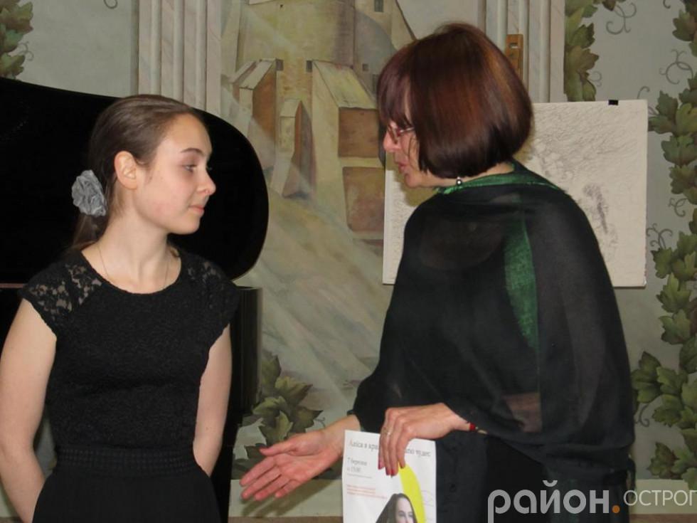 Аліса Заїка та Людмила Гарарук