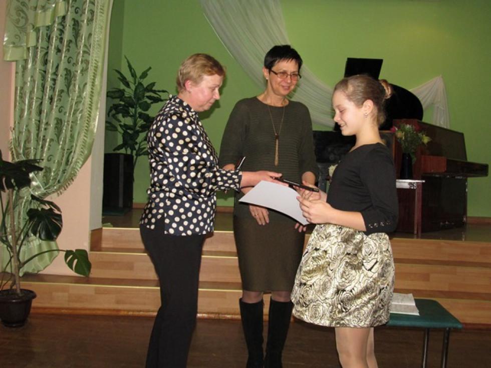 Учениця Валентини Куришеної – Анна Сивук здобула перемогу на конкурсі