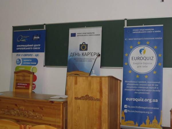 В Острозькій академії відбудуться «Дні кар'єри ЄС»