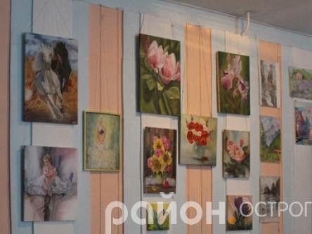 Виставка картин Людмили Шевчук