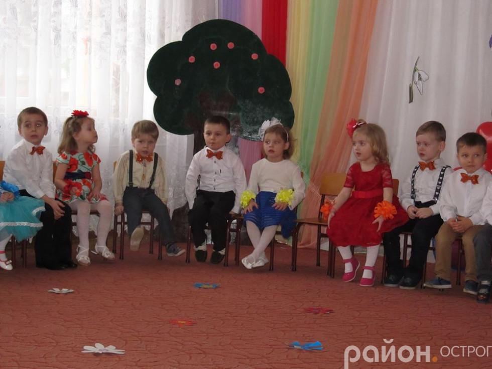 Свято весни у дитячому садочку