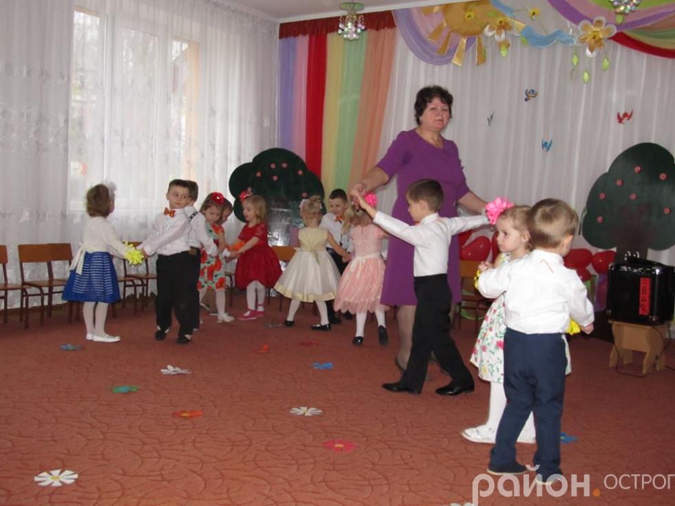Танці від юних артистів