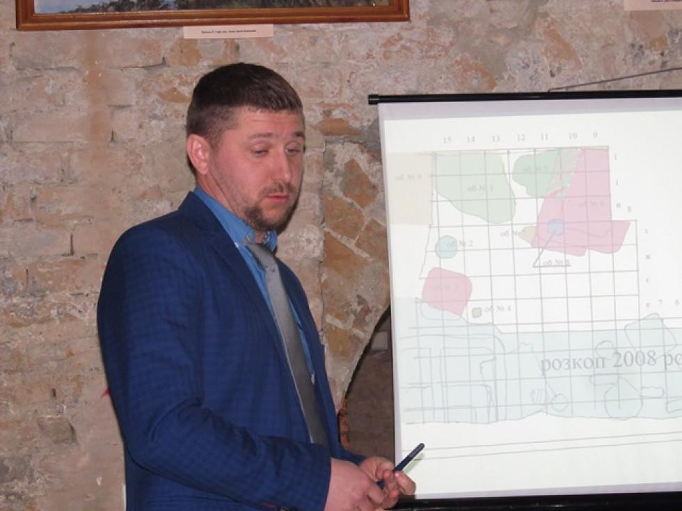 Юрій Войтюк розповів про результати розкопок