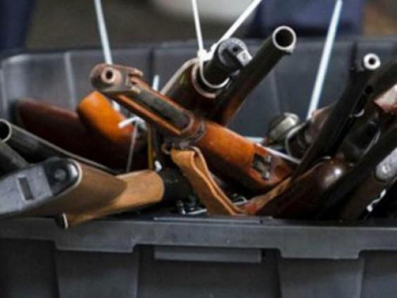 Поліція закликає острожан добровільно здати нелегельну зброю