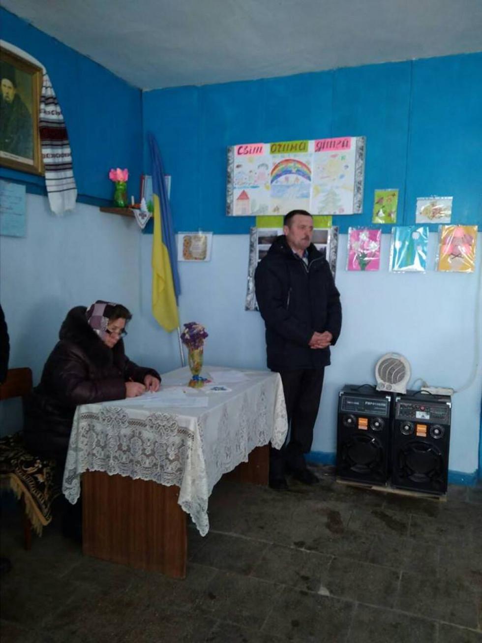 Голова Мощаницької сільської ради Олександр Чубик