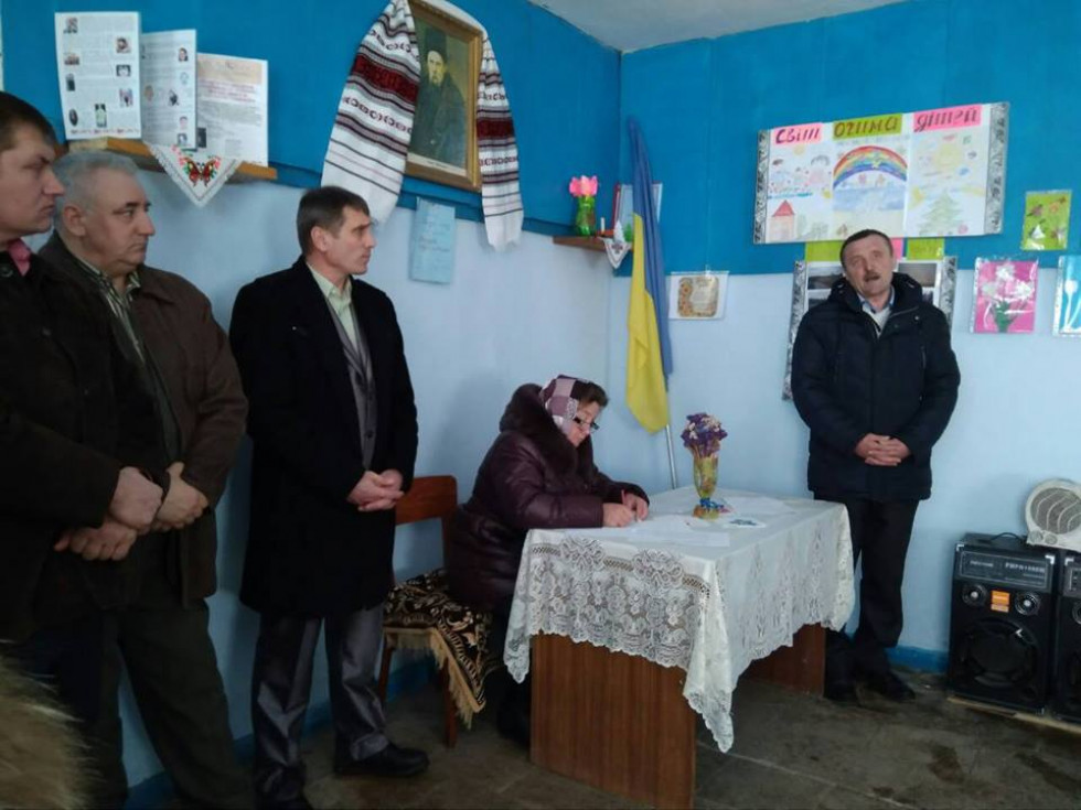 Серед присутніх були представники місцевої та районної влади, а також гості з сіл Вельбівно, Кургани та Могиляни.