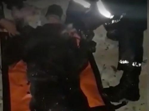 Кадр порятунку з оперативного відео