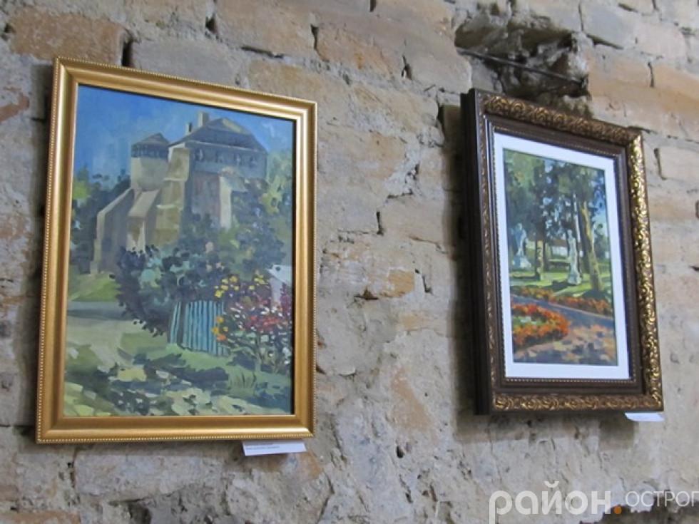 Пам'ятки Острога на картинах юних художників