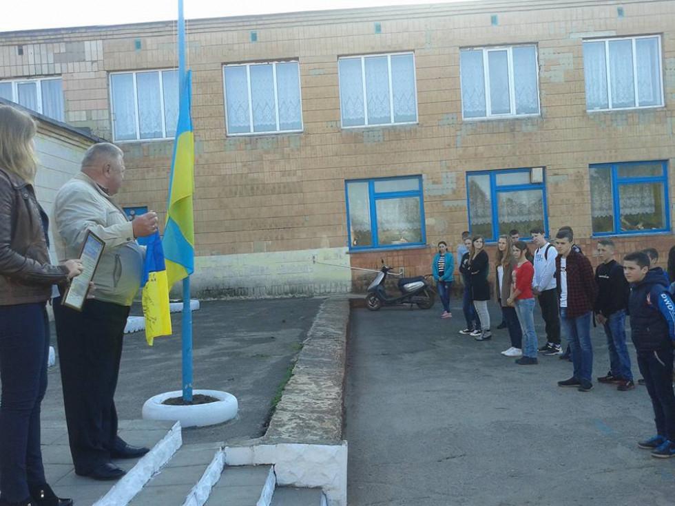 Зустріч із воїном АТО Іваном Панасюком