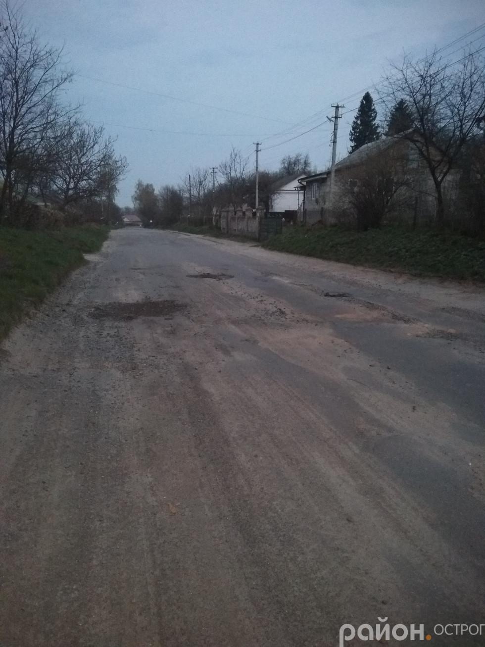 Дорога до лікарні (вул. Татарська)