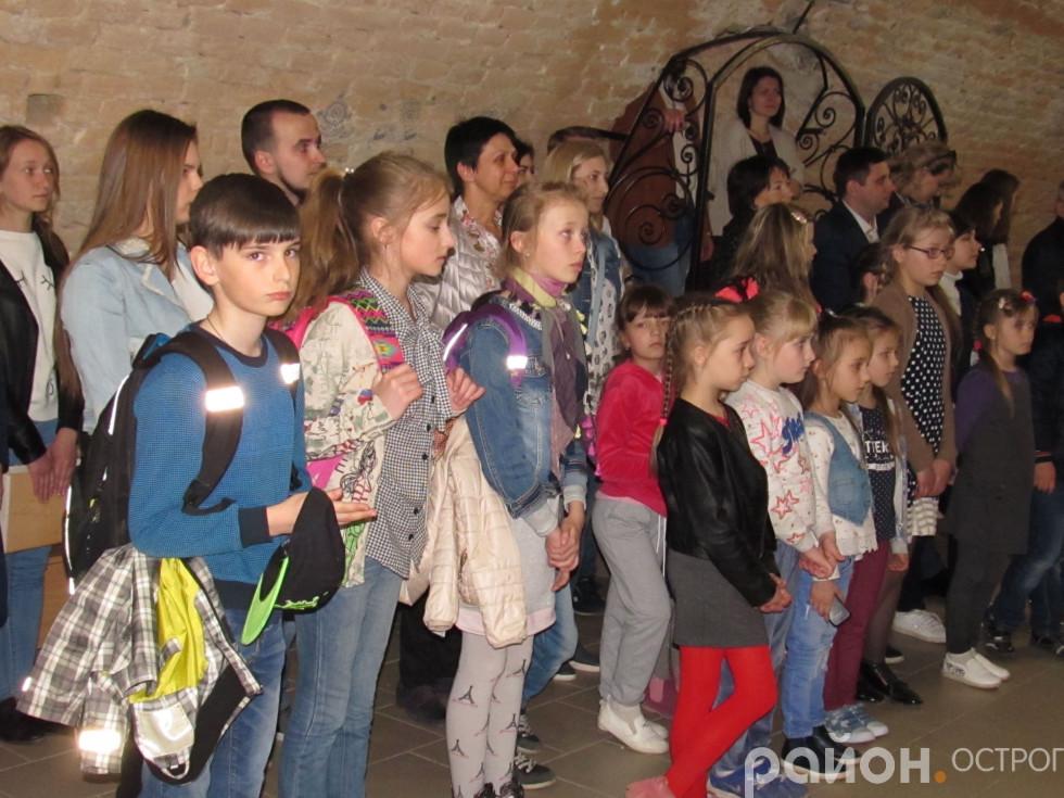 Учні Острозької школи мистецтв