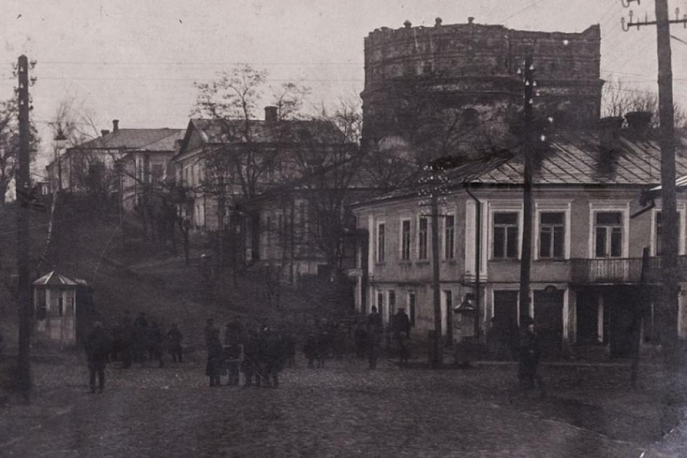 Одна з вулиць міста (нині вул. В. Чорновола)