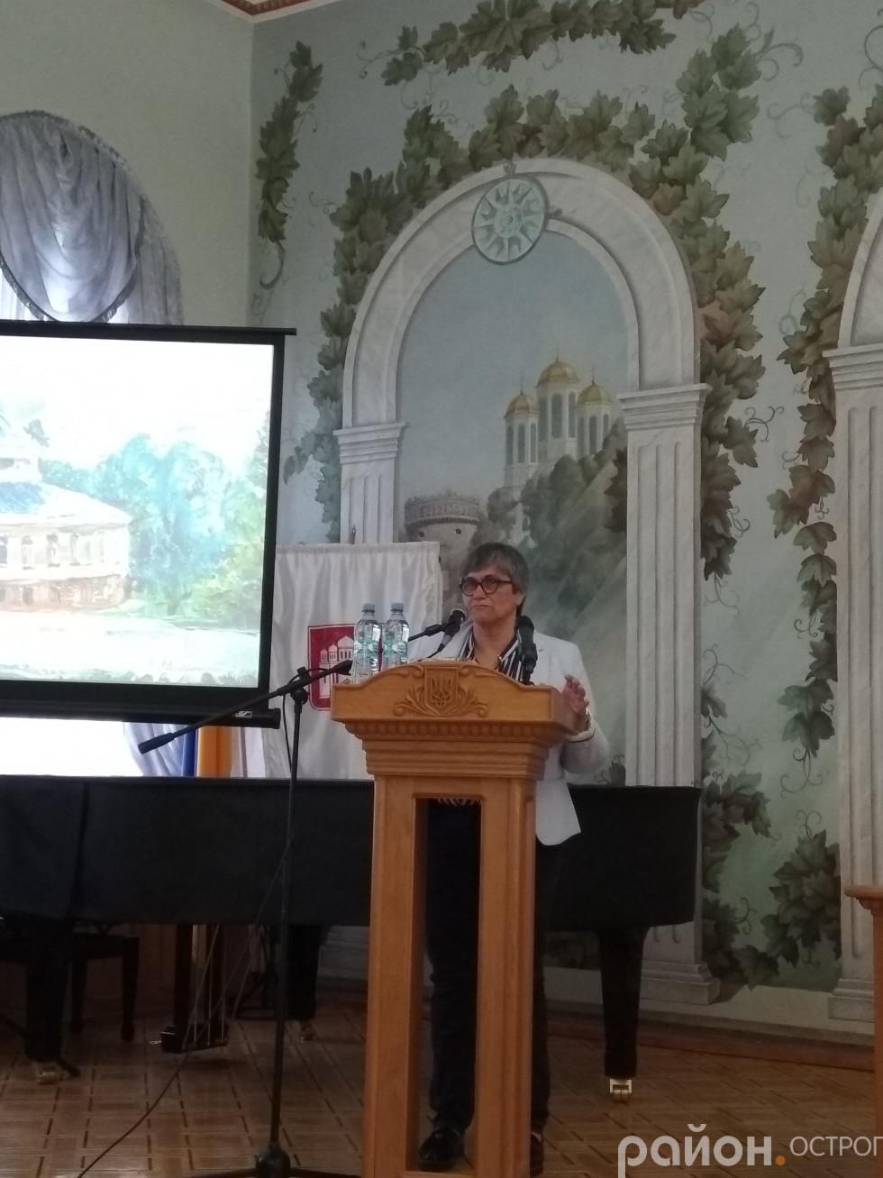 Посол Португалії Марія Кріштіна Серпа ди Алмейда