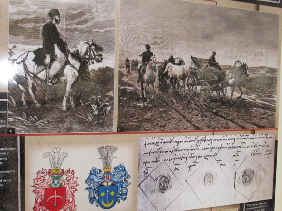 В експозиції представлені світлини важливих історичних постатей