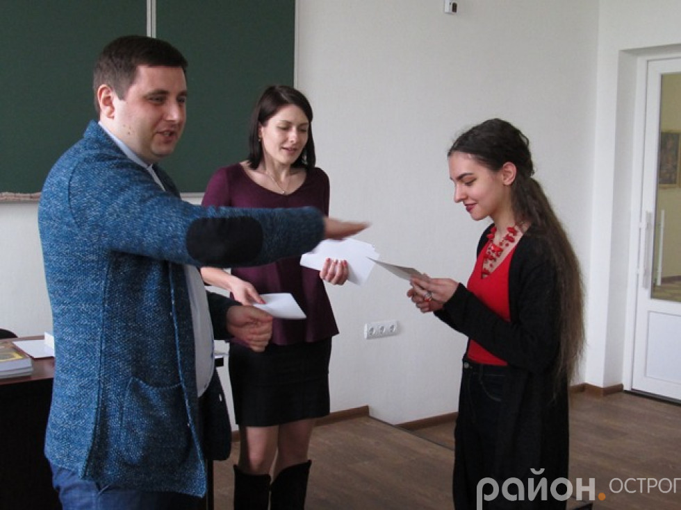 Нагородження переможців  та вручення сертифікатів учасникам олімпіади