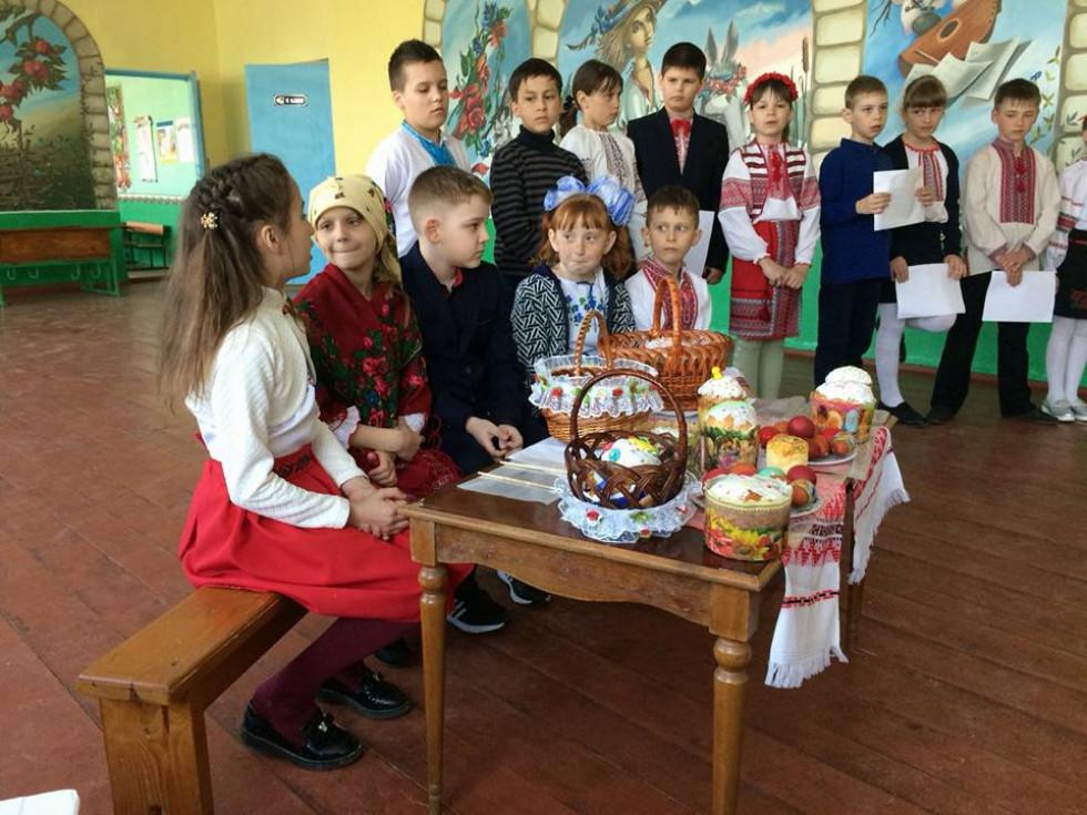 Учні пригадали великодні традиції