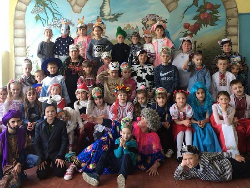 День казкових героїв у Вельбівненській ЗОШ
