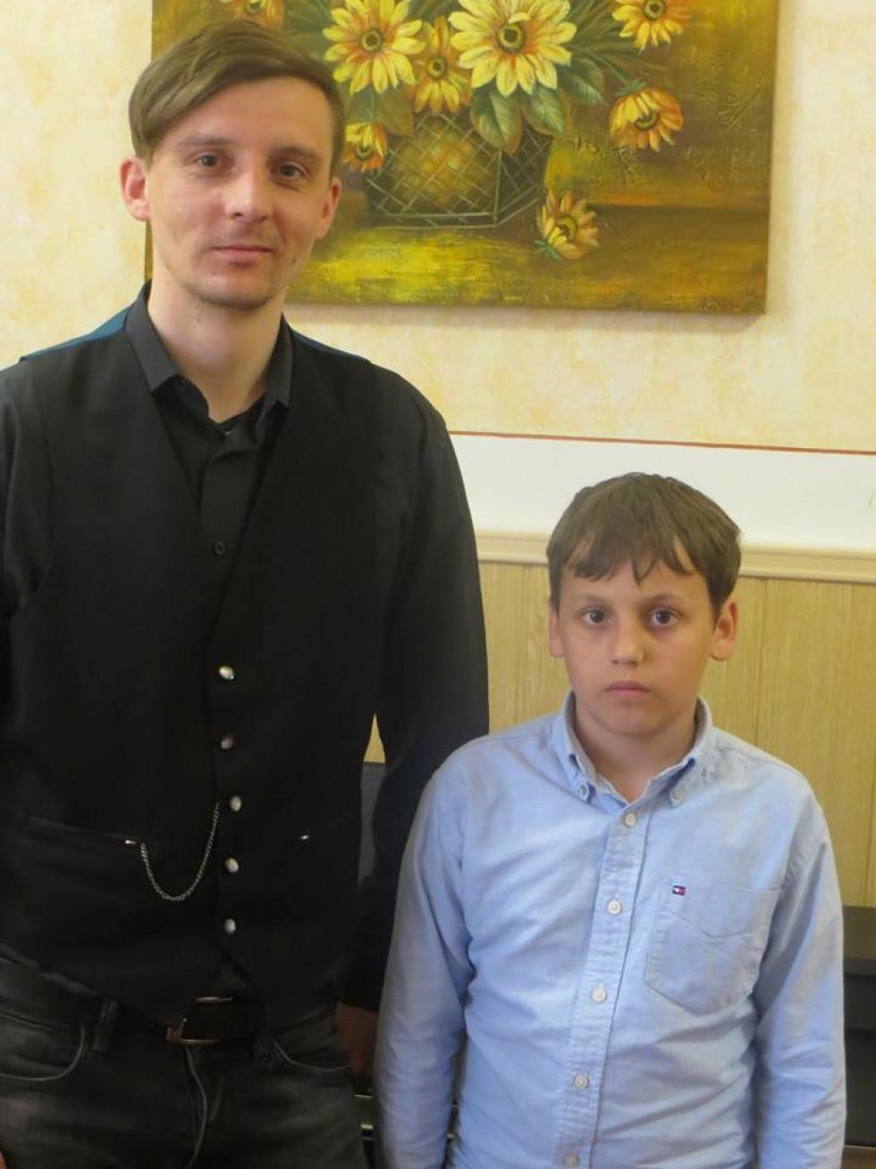Степан Залюбівець та Шумаков Володимир