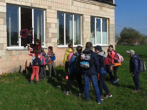 Евакуація зі школи