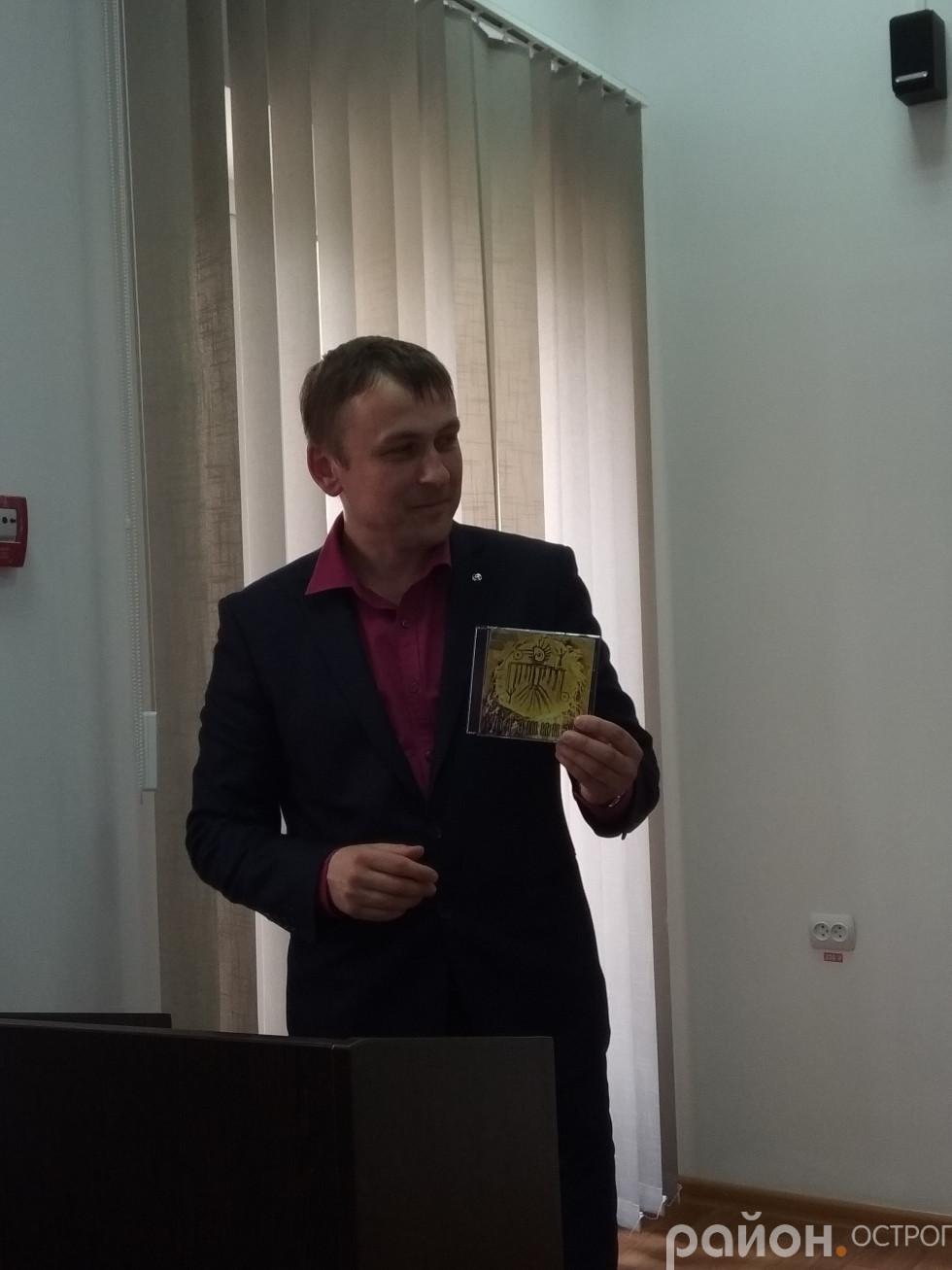 Роман Криловець представляє гостей