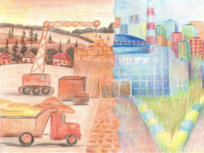 Малюнок Назара Чумака, одного з переможців попередніх років.