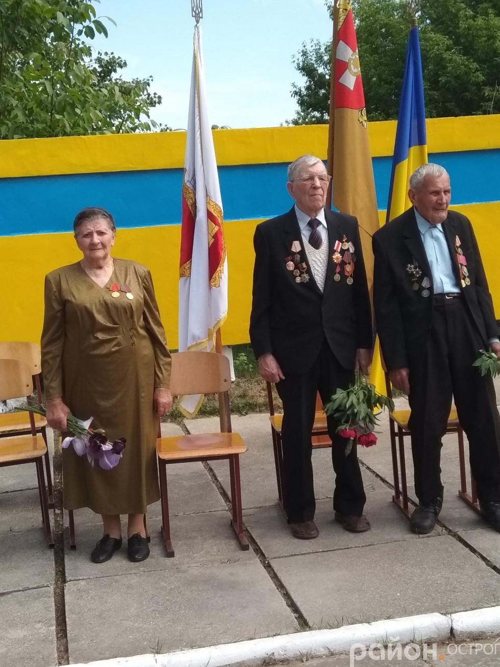 На мітинг пам'яті завітали ветерани