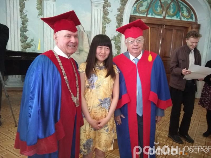 Видатний композитор Мирослав Скорик став почесним доктором  НаУ ОА
