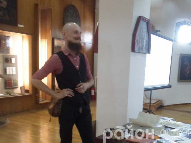 Валентин Колонтай в Острозі
