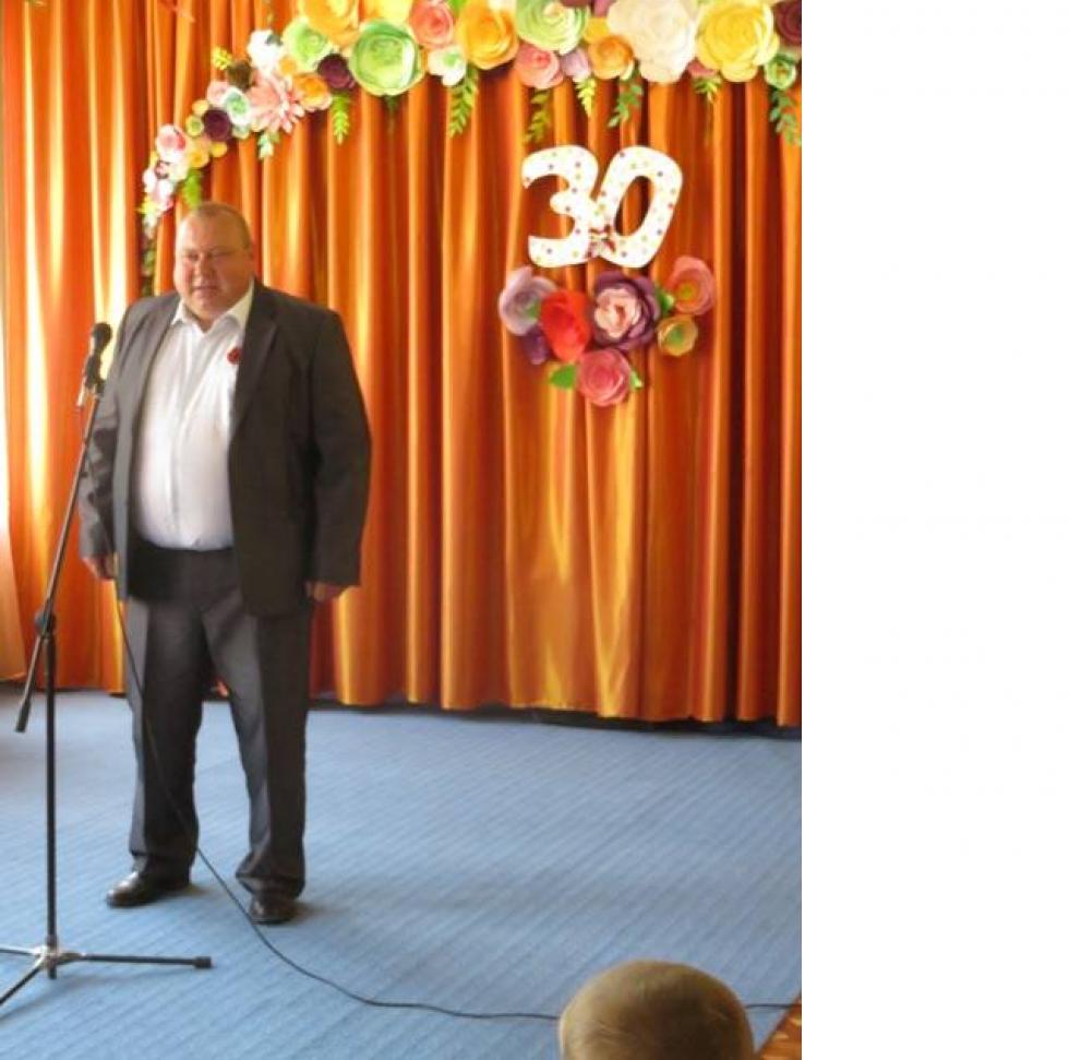 Голова Плосківської сільської ради Петро Галімський