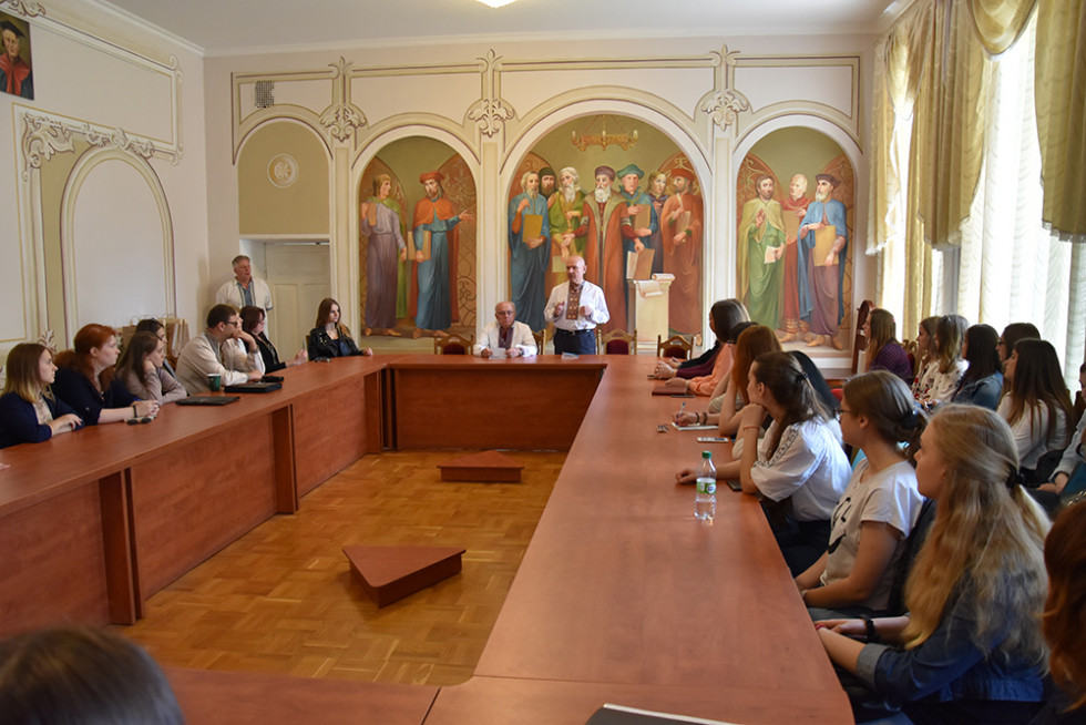 Презентація відвідали студенти, викладачі та представники ректорату