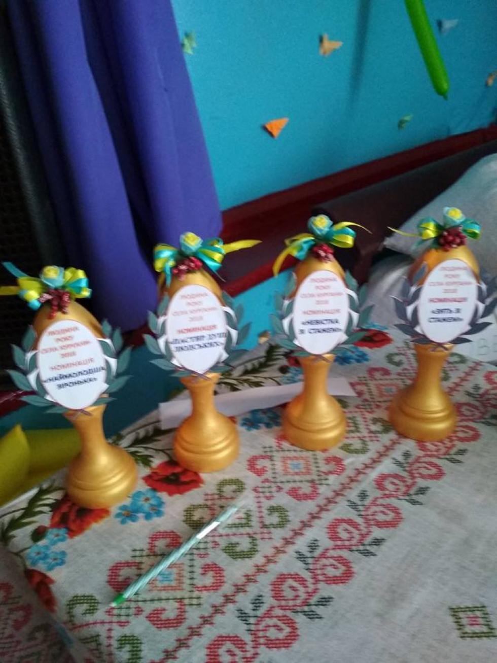 Нагороди для «Людей року села Кургани»